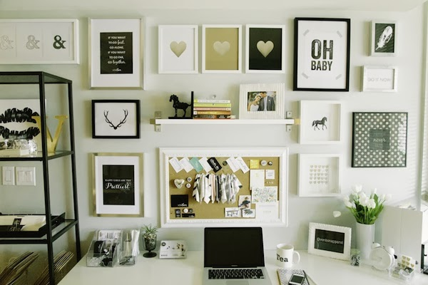 Gallery Wall Prints decor // the gallery wall - style cuspstyle cusp