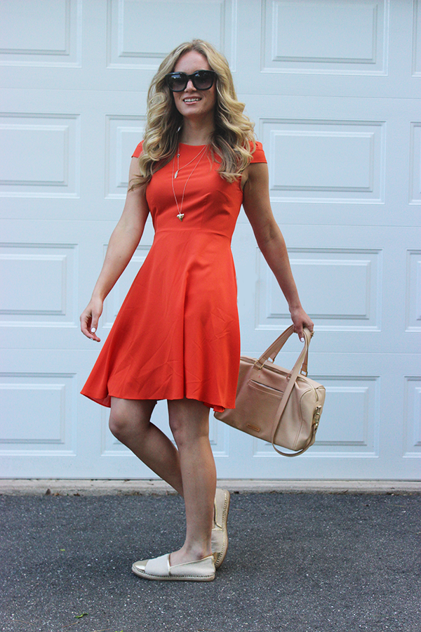 Bright Red Summer Dress
