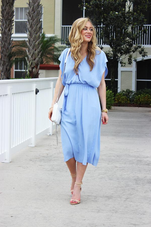 Style Cusp Flowy Midi Dress