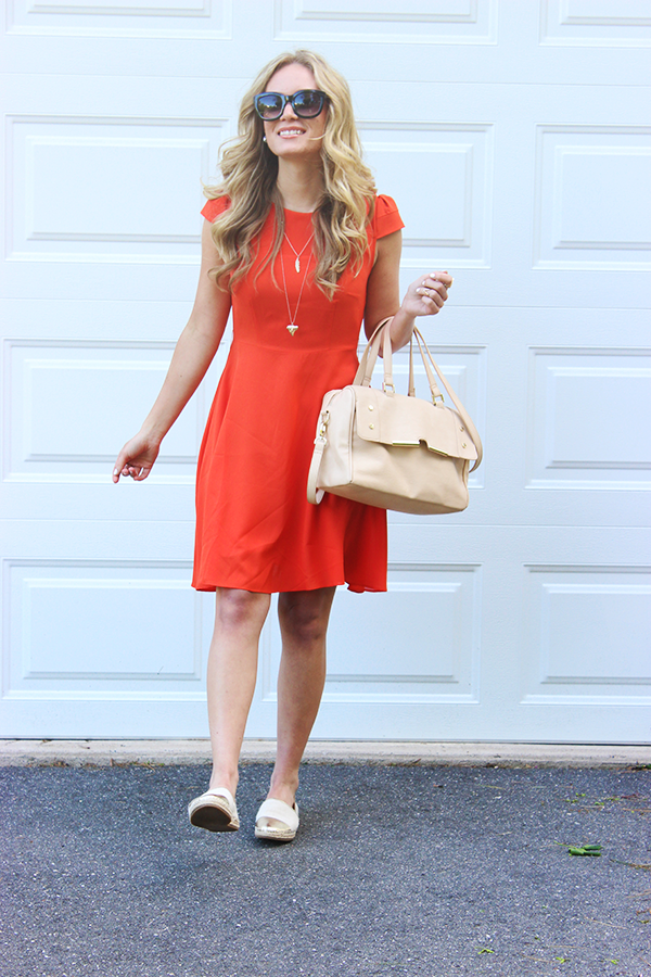 Style Cusp_Tangerine Dress