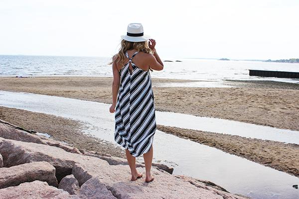 Summer Striped Dress2