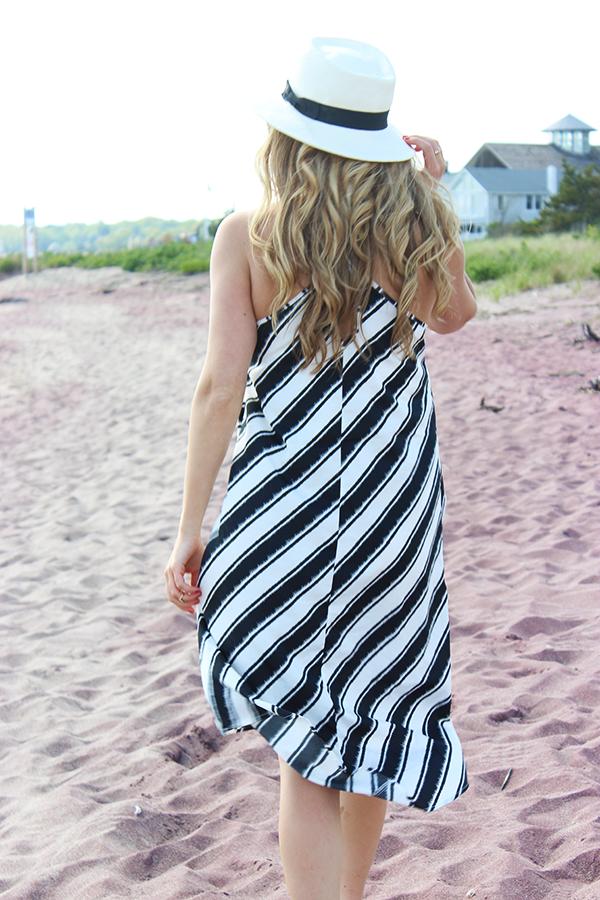 Summer Striped Dress3