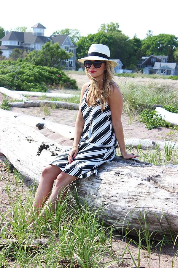 Summer Striped Dress6