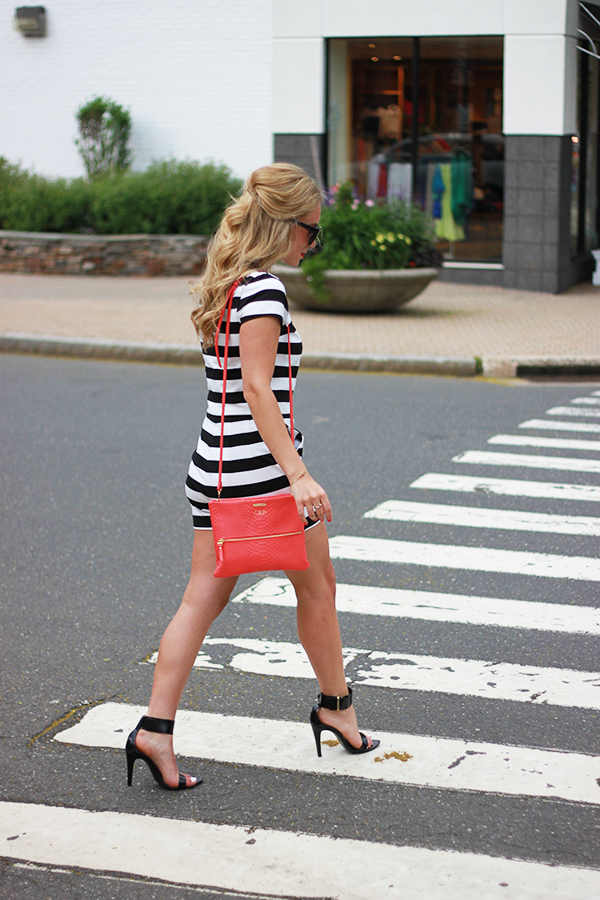 Stripes with Coral