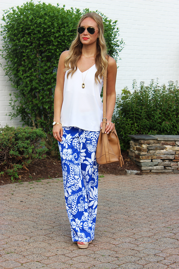 Style Cusp x Lilly Pulitzer Palazzo Pant