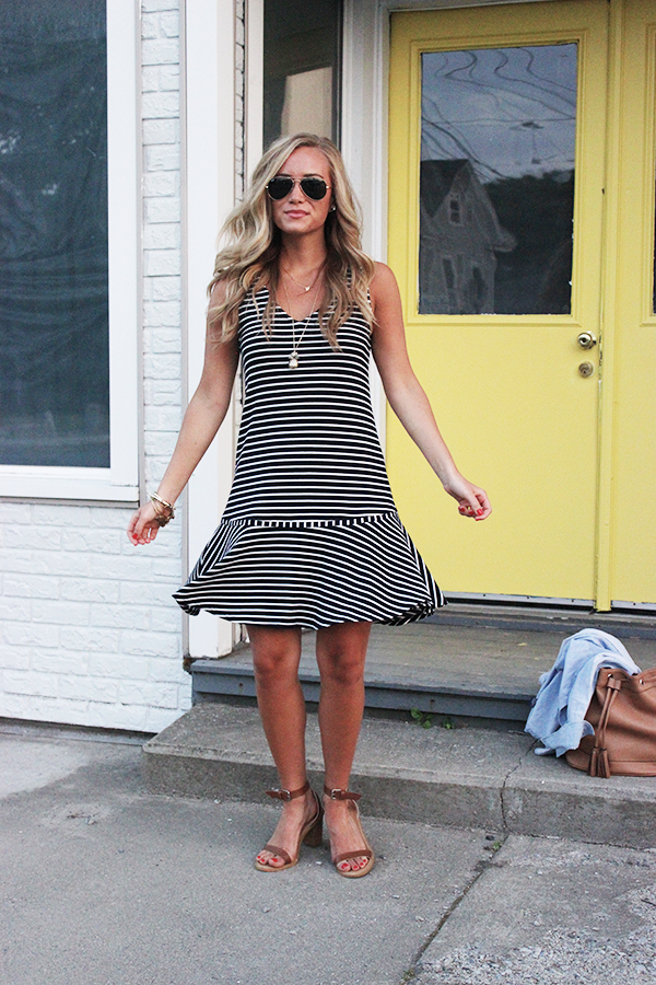 Buckley K Striped Dress
