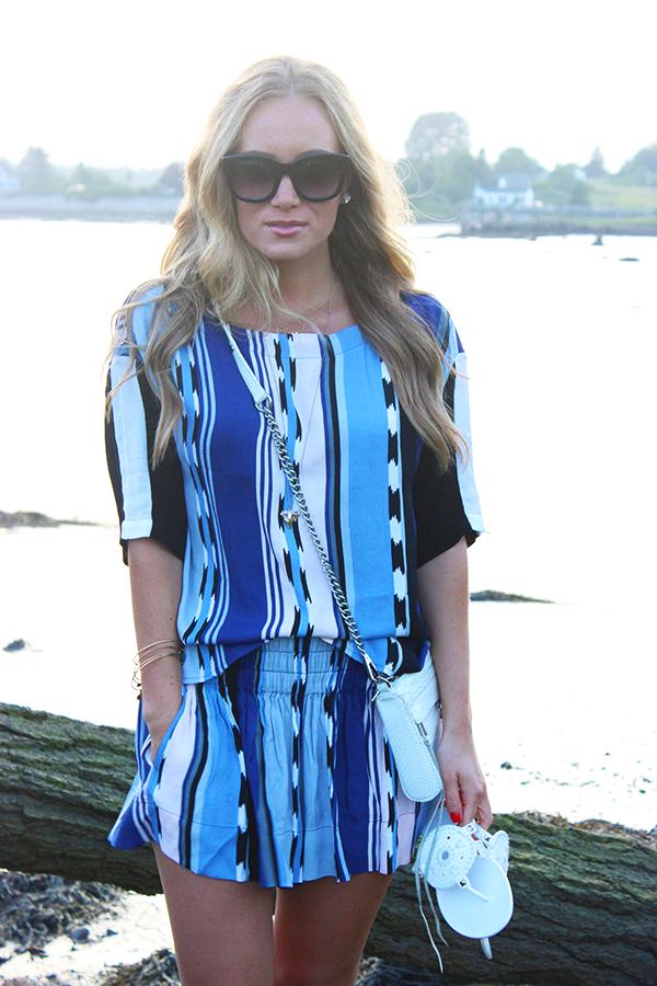 Ella Moss Blue Stripes