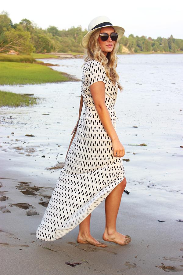 Geometric Flowy Dress