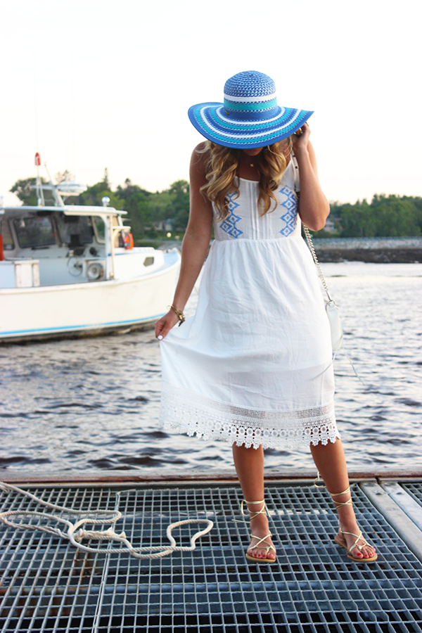 Summer Maine Style Dress