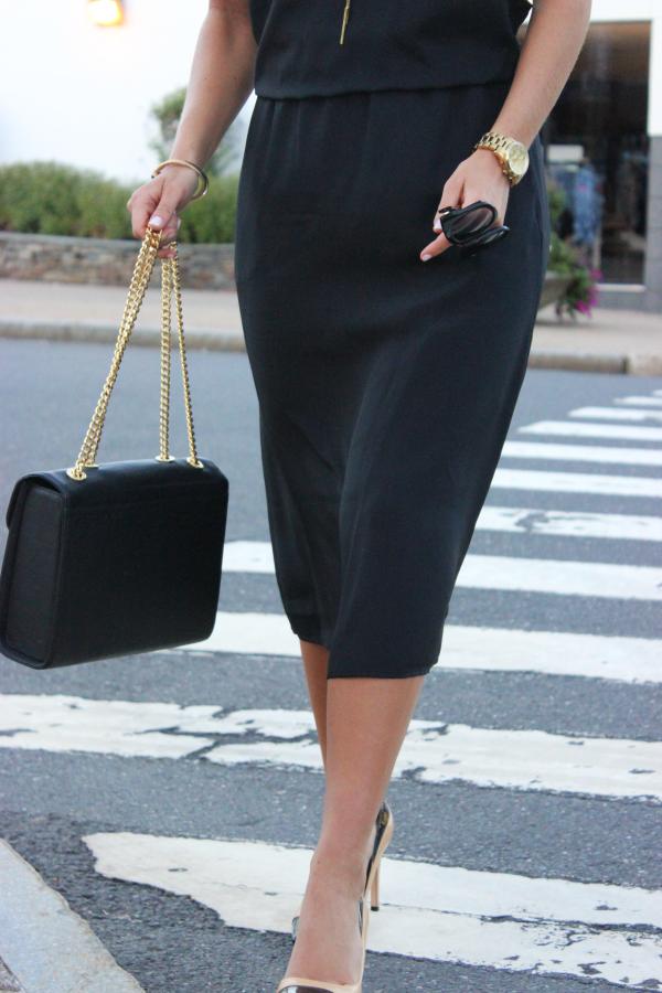 1State Black Dress