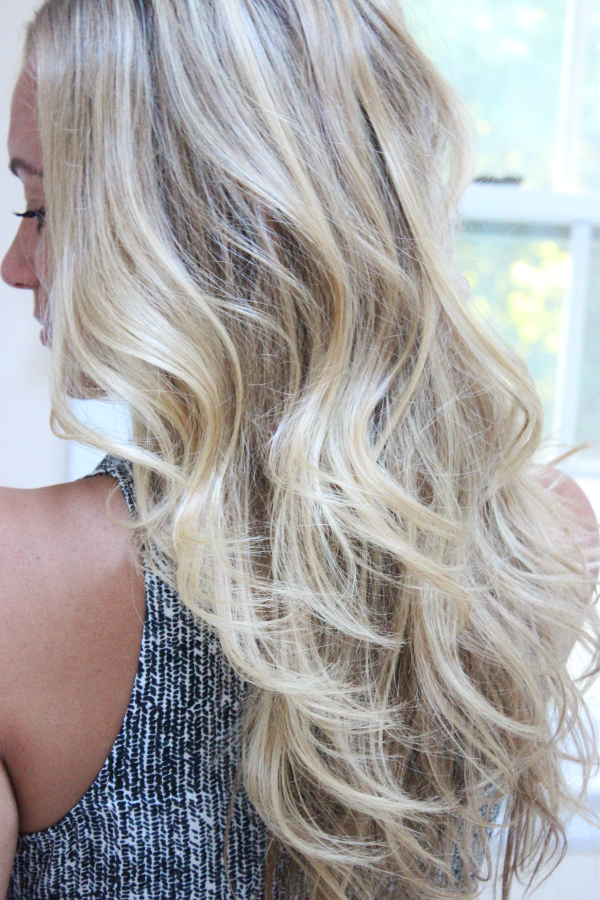 How to Get Loose Beachy Waves