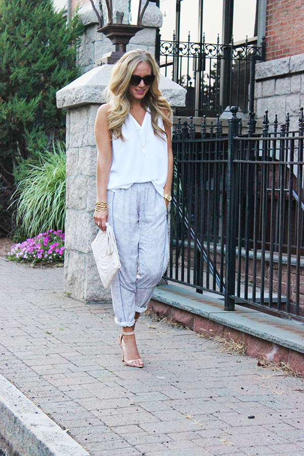 How to Wear Loose Track Pants