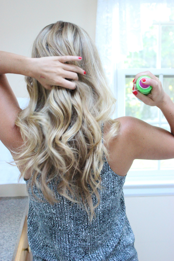 Loose Beachy Waves