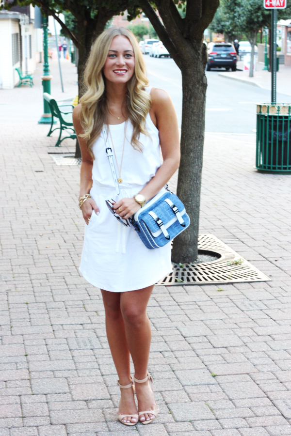 Lou + Grey White Dress