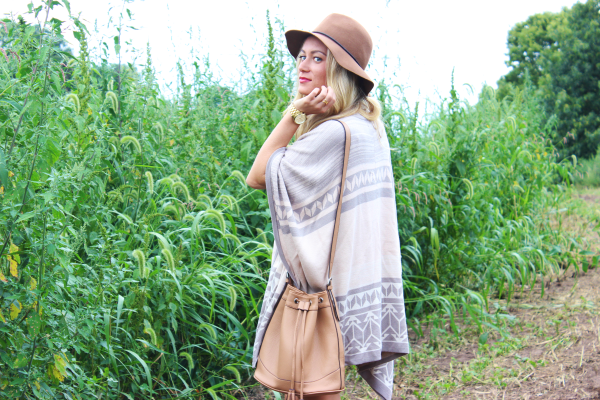 Oversized Fall Poncho