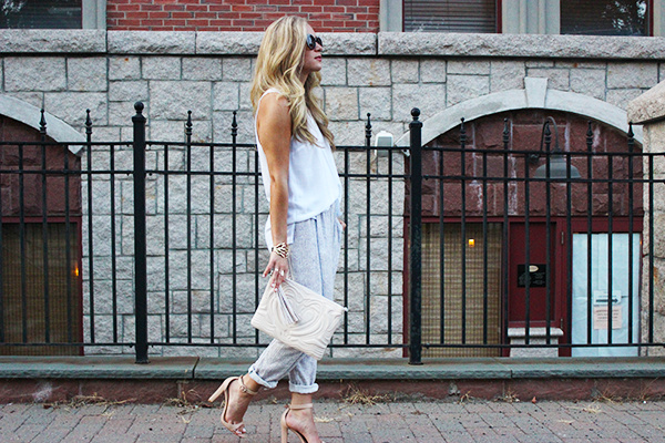 Styling Loose Pants