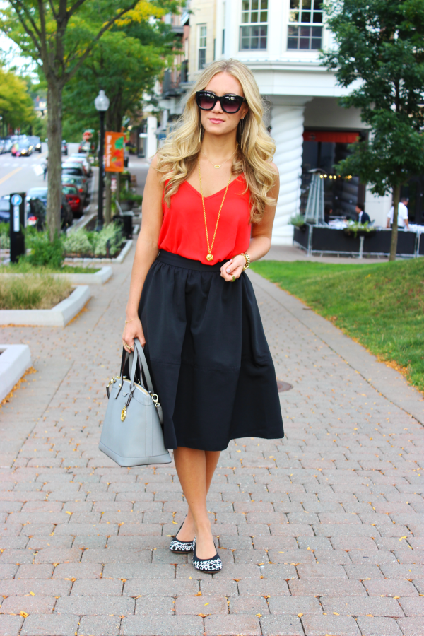 nyfw black midi skirt style cuspstyle cusp