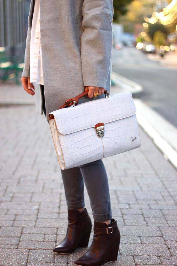 Consuela Gray Bag