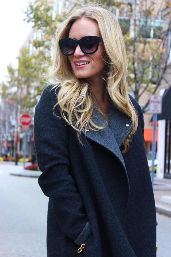 Cozy Gray Coat