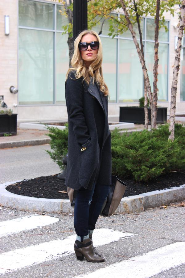 Long Gray Coat