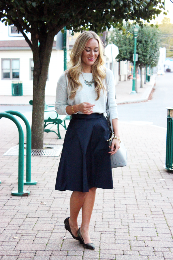 Navy and Gray