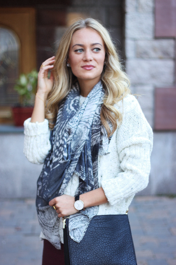 Sweater and Scarf