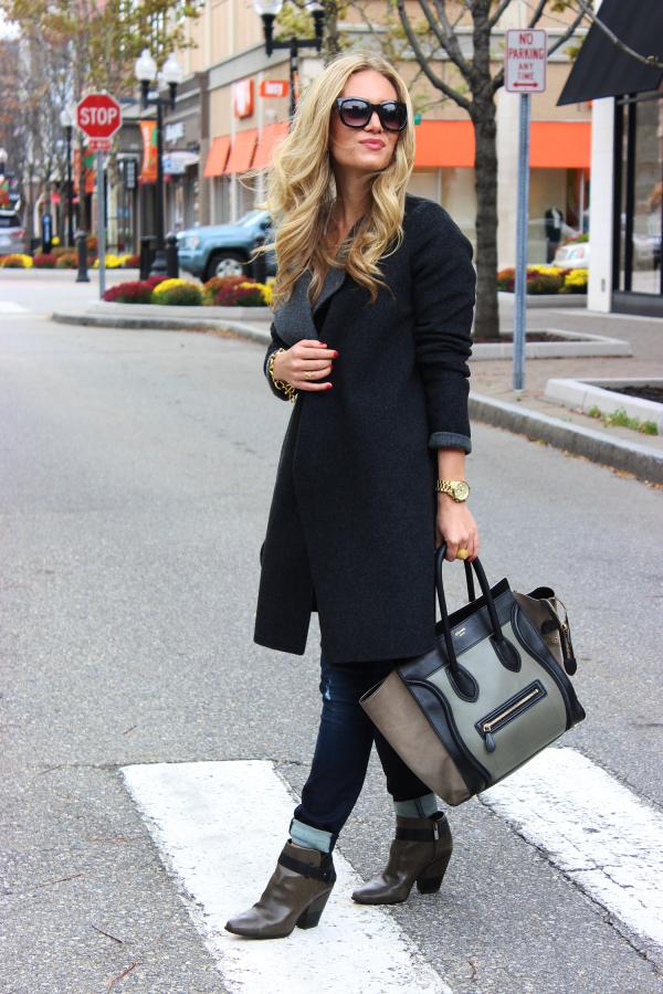 Vince Coat Celine Bag
