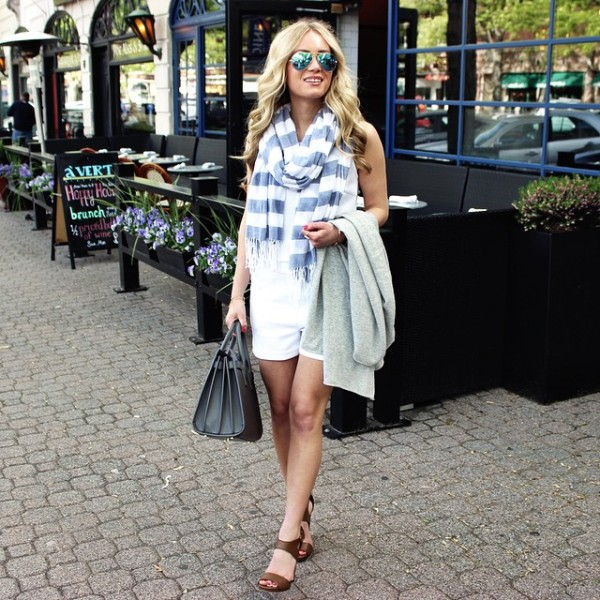 the perfect #mdw look in this little white romper. so…