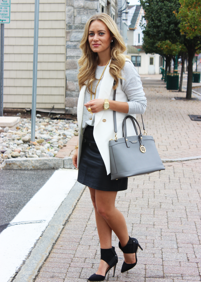 STYLE // Leather Skirt