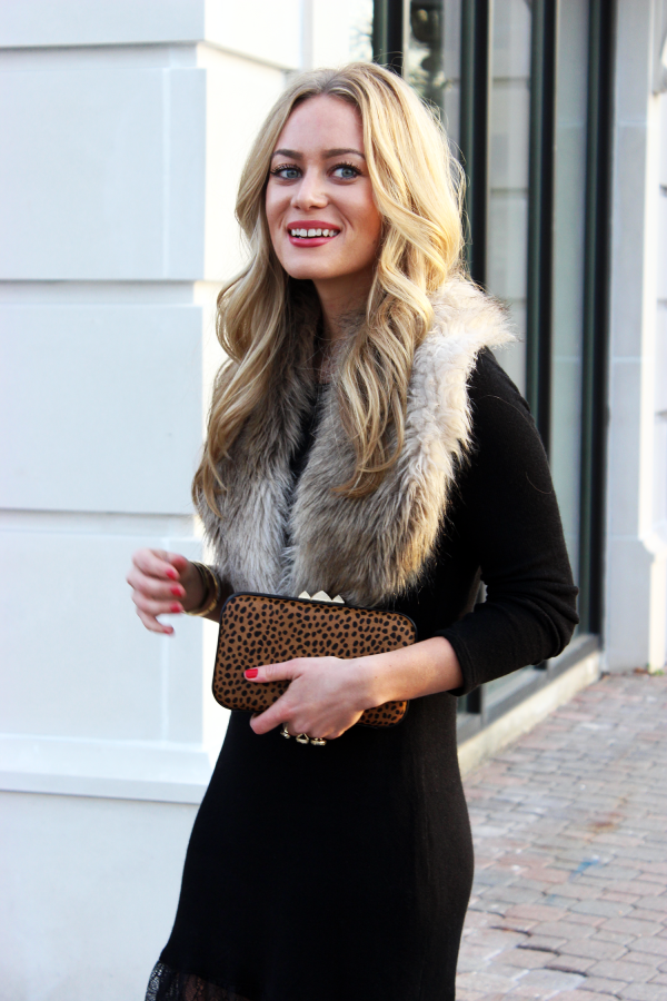 Faux Fur Stole for Holidays