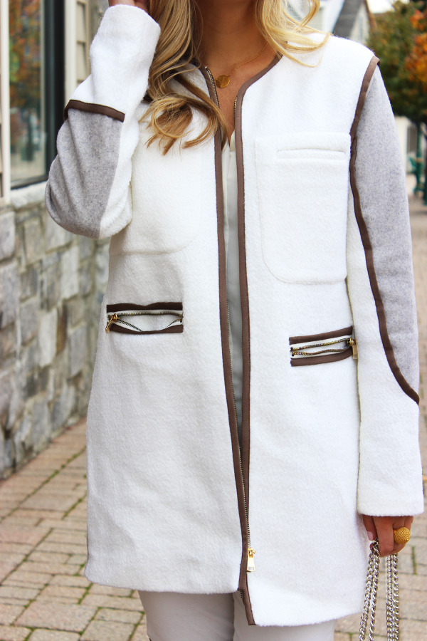 French Connection Neutral Coat