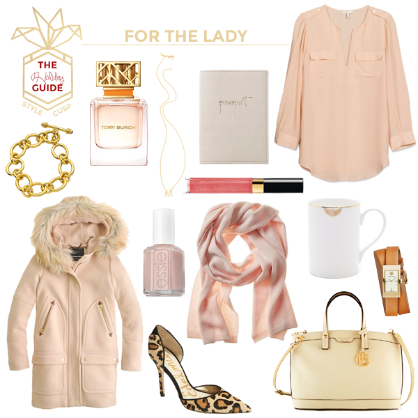 HOLIDAY GIFT GUIDE FOR THE LADY, GIFTS FOR HER, CHRISTMAS GIFTS FOR HER