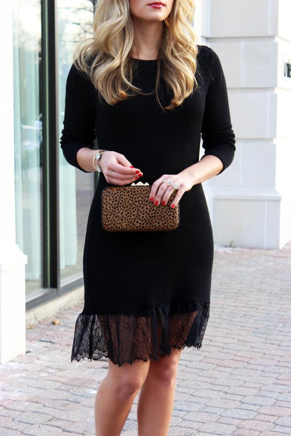 Holiday Black Dress