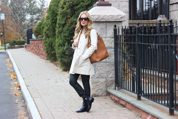 Trench Coat Chelsea Boots