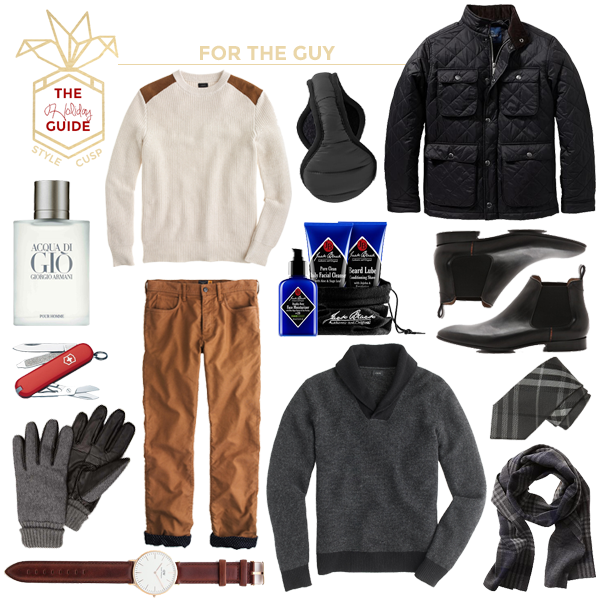 HOLIDAY GUIDE // For the Guy - Style CuspStyle Cusp
