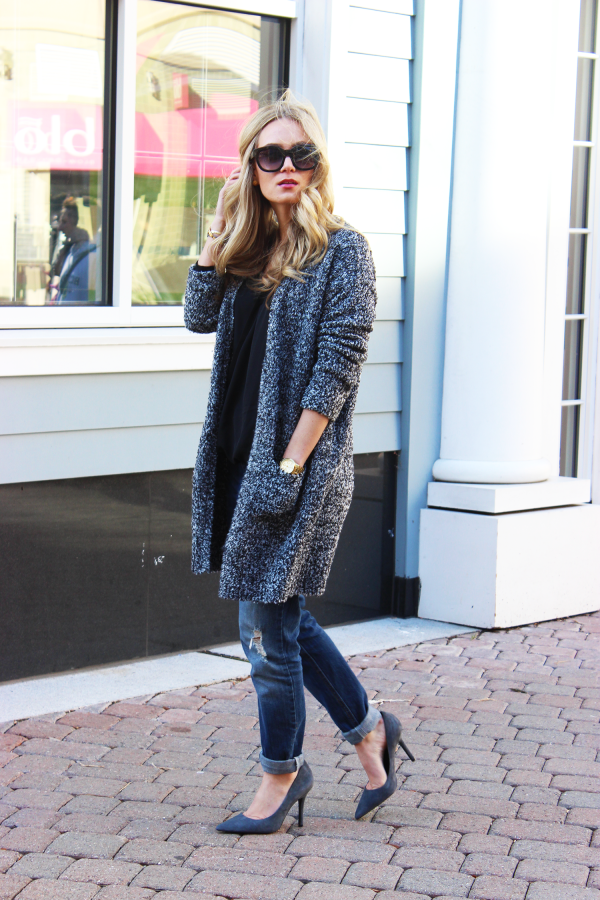 Knit Topshop Long Sweater