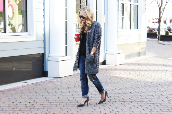 STYLE // Long Gray Cardigan - Style CuspStyle Cusp