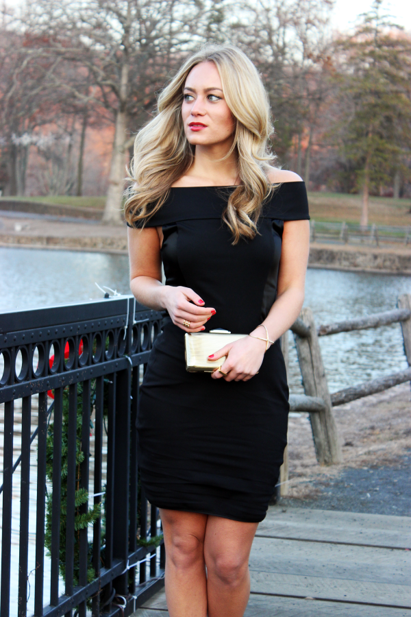 Style Cusp Holiday Outfit LBD
