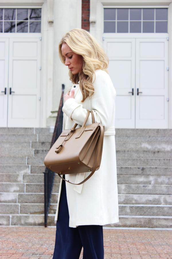 Tan Saint Laurent Bag