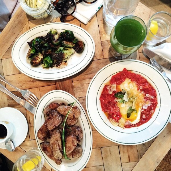 sunday brunching with @bluefly at @rosemarysnyc seriously incredible food (and…