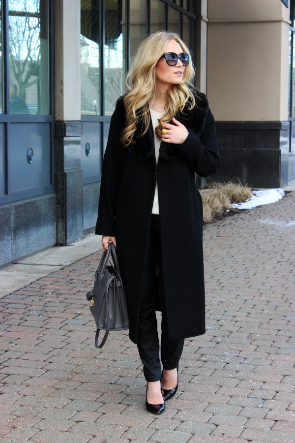 Black Duster Coat