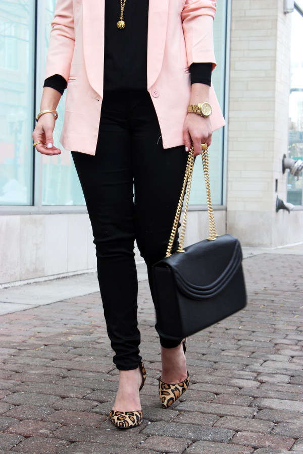 Blush Black and Leopard