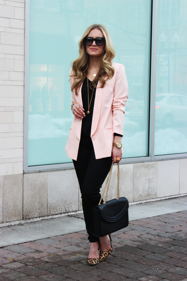 Images of Blush Pink Blazer - Reikian