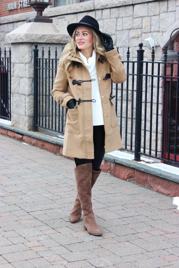 Camel Toggle Coat