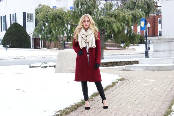 Chic Red Coat