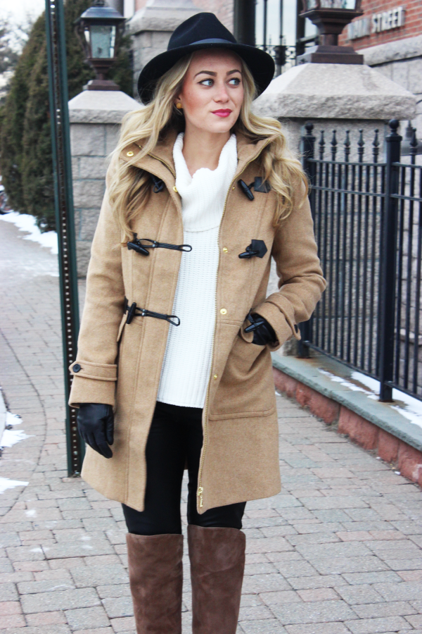 Coat with Toggles