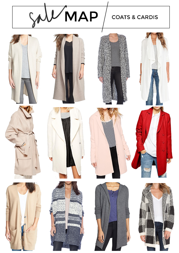 SALE MAP // Cardis   Coats - Style CuspStyle Cusp
