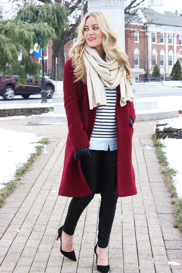 STYLE // Long Red Coat - Style CuspStyle Cusp