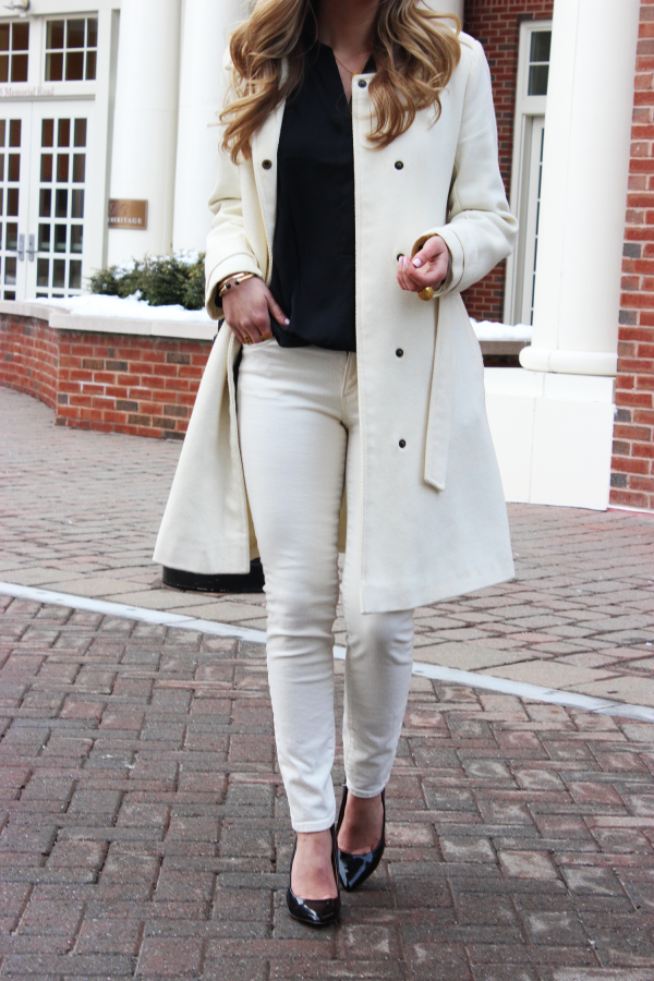 Winter White Denim