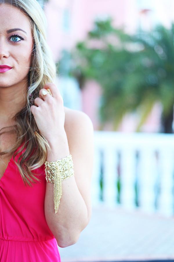 Kendra Scott Gold Tassel Bracelet
